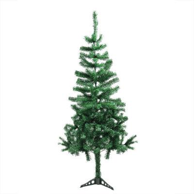 "5' x 28"" Mixed Green Pine Medium Artificial Christmas Tree - Unlit"""