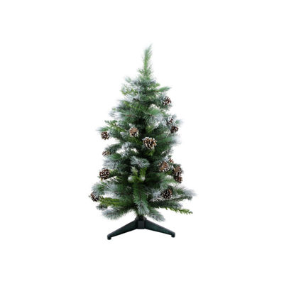 3' Frosted Glacier Pine Artificial Christmas Treewith Pine Cones - Unlit