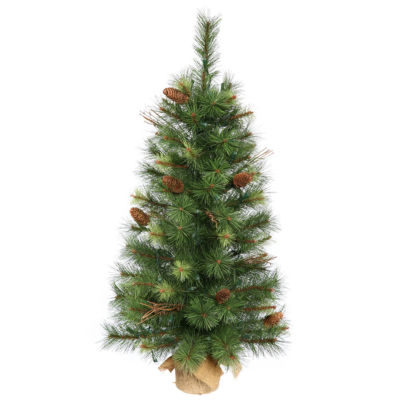 2.5' Caribou Mix Pine Artificial Christmas Tree -Unlit