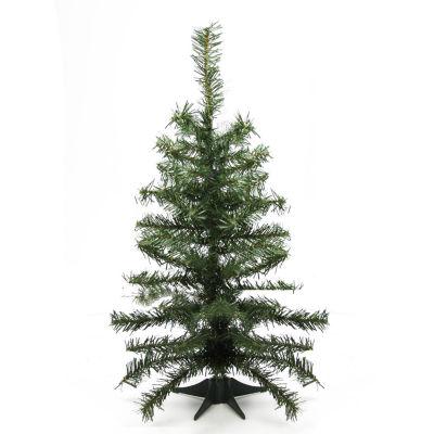 "2' x 10"" Canadian Pine Medium Artificial ChristmasTree - Unlit"""