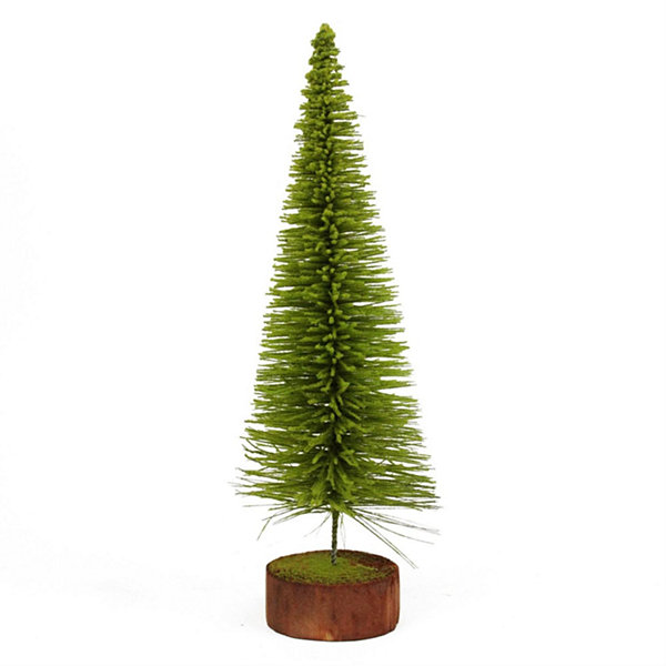 2' Moss Green Pine Artificial Village Christmas Tree - Unlit
