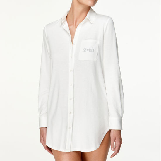Flora By Flora Nikrooz Long Sleeve Nightshirt