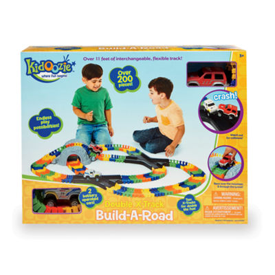 International Playthings - Kidoozie Double X-Track Build-A-Road
