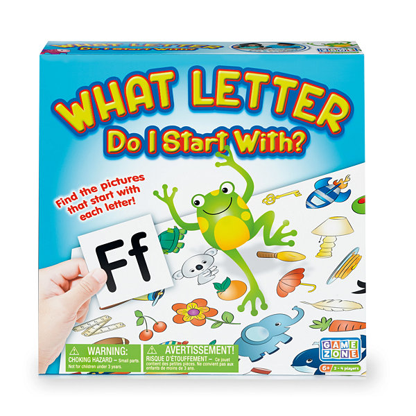 International Playthings - Game Zone What Letter Do I Start With?