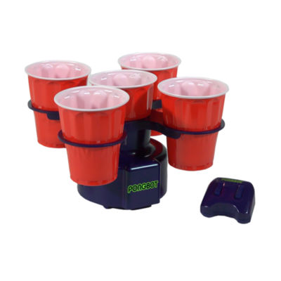 License 2 Play - Pongbot Red Lights Robotic Moving Beer Pong Game