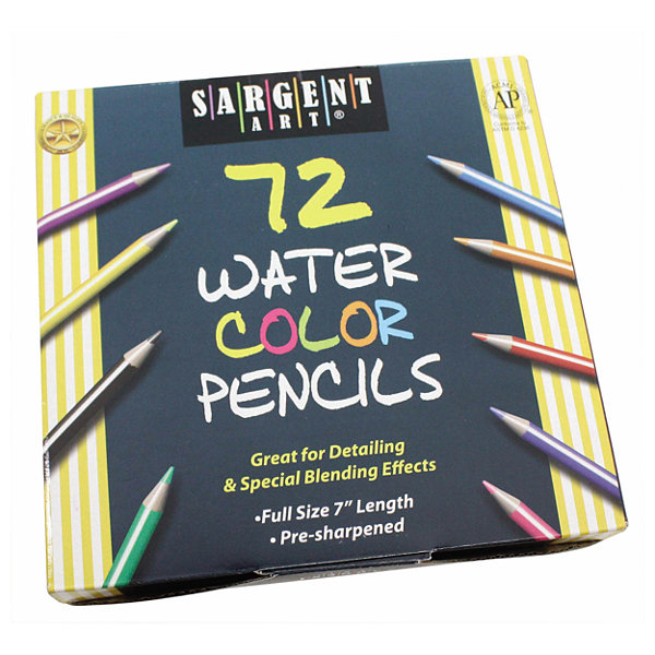 Sargent Art - 72 Count Watercolor Number 7 Pencils