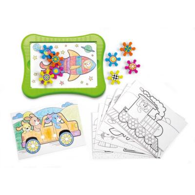 International Playthings - Kidoozie Color 'n Spin Gears Set