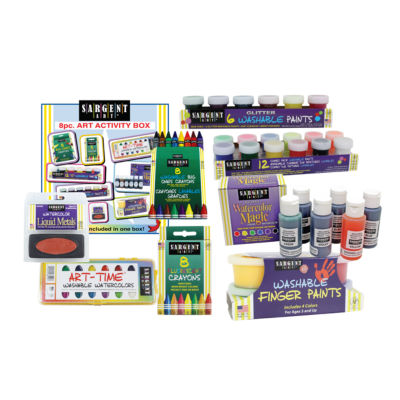 Sargent Art - 8 Piece Art Activity Set