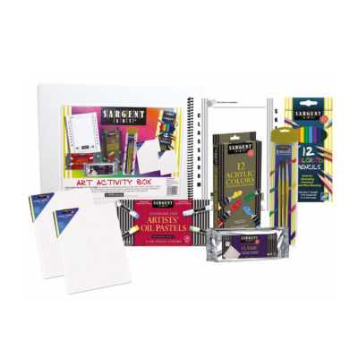 Sargent Art - 8 Piece Children's Art and Activity Kit for the Advanced Artist