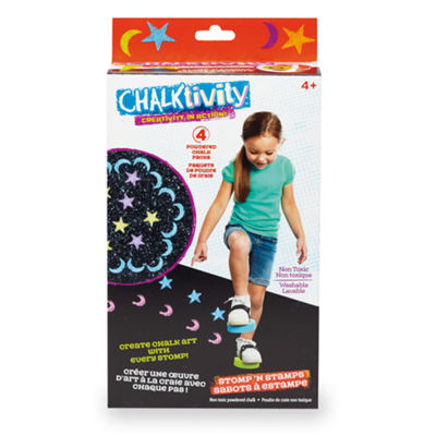 International Playthings - Chalktivity Stomp 'n Stamps