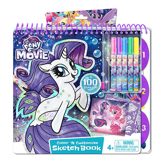 Canal Toys - My Little Pony Portfolio with Markers