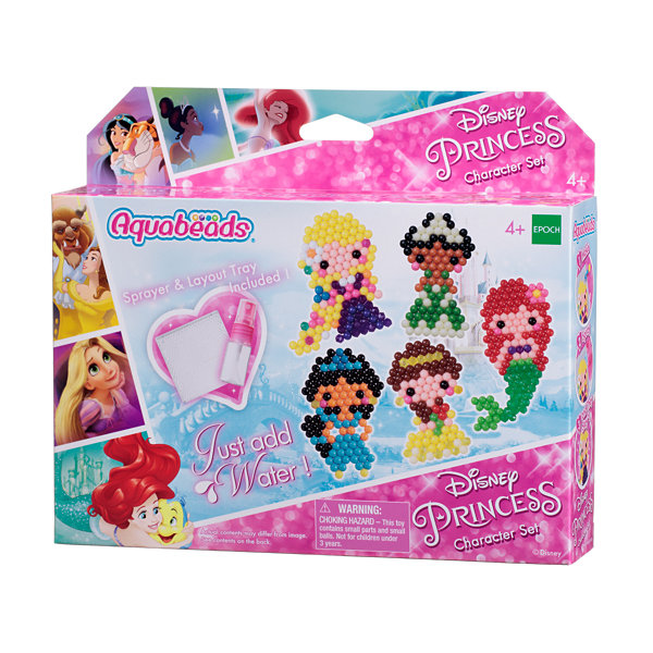 International Playthings - Aquabeads Disney Princess Character Set