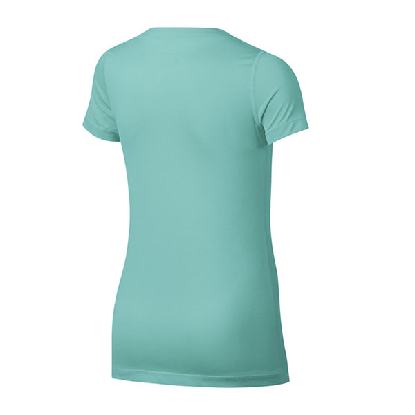 Nike Short Sleeve Scoop Neck T-Shirt-Big Kid Girls