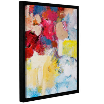 Brushstone When The Angels Sing Gallery Wrapped Floater-Framed Canvas Wall Art