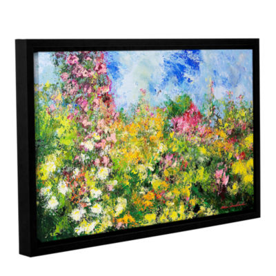 Brushstone Wild Sweetness Gallery Wrapped Floater-Framed Canvas Wall Art