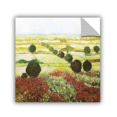 Brushstone Wildflower Valley Removable Wall Decal