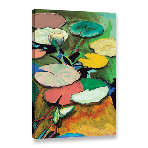 Brushstone Windchime Spring Gallery Wrapped CanvasWall Art