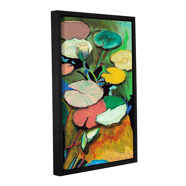 Brushstone Windchime Spring Gallery Wrapped Floater-Framed Canvas Wall Art