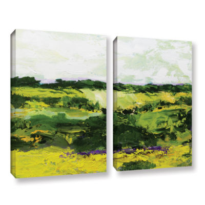 Brushstone White Hill 2-pc. Gallery Wrapped CanvasWall Art