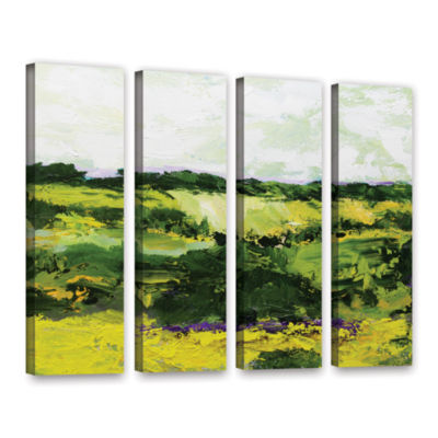 Brushstone White Hill 4-pc. Gallery Wrapped CanvasWall Art