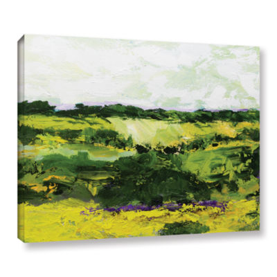 Brushstone White Hill Gallery Wrapped Canvas WallArt