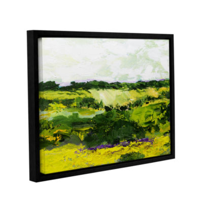 Brushstone White Hill Gallery Wrapped Floater-Framed Canvas Wall Art