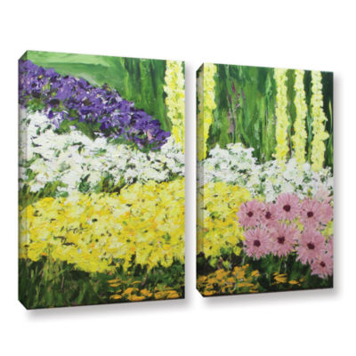 Brushstone Wild Flowers 2 2-pc. Gallery Wrapped Canvas Wall Art