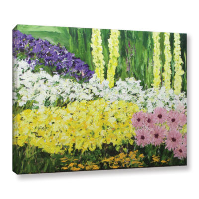 Brushstone Wild Flowers 2 Gallery Wrapped Canvas Wall Art