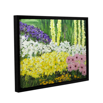 Brushstone Wild Flowers 2 Gallery Wrapped Floater-Framed Canvas Wall Art