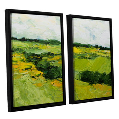 Brushstone Woodbridge 2-pc. Floater Framed CanvasWall Art