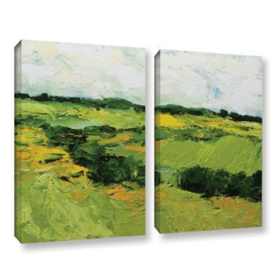 Brushstone Woodbridge 2-pc. Gallery Wrapped CanvasWall Art