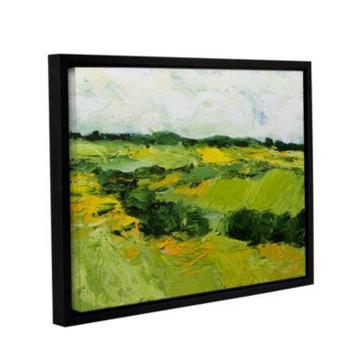 Brushstone Woodbridge Gallery Wrapped Floater-Framed Canvas Wall Art