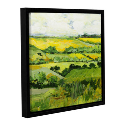 Brushstone Woolton Gallery Wrapped Floater-FramedCanvas Wall Art