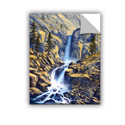 Brushstone Wilderness Waterfall Removable Wall Decal