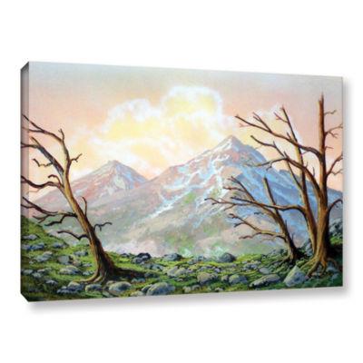 Brushstone Windblown Gallery Wrapped Canvas Wall Art