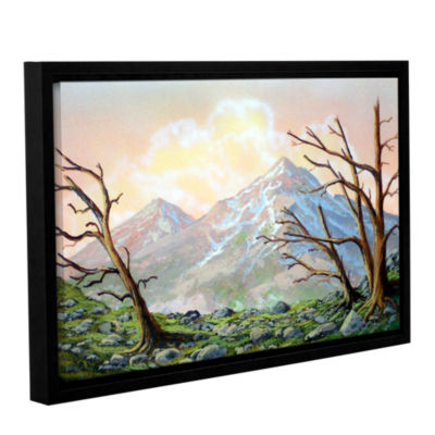 Brushstone Windblown Gallery Wrapped Floater-Framed Canvas Wall Art