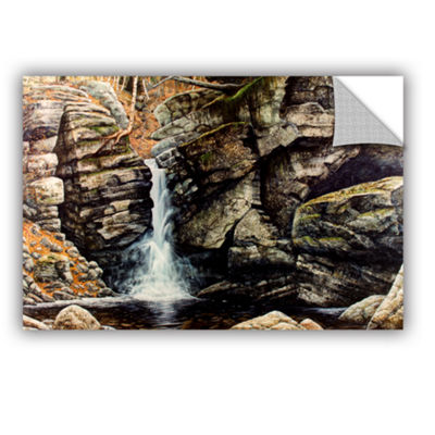 Brushstone Woodland Falls Removable Wall Decal