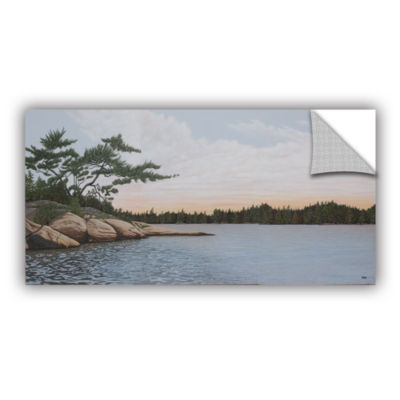 Brushstone Winded Pine by Ken Kirsh Removable WallDecal