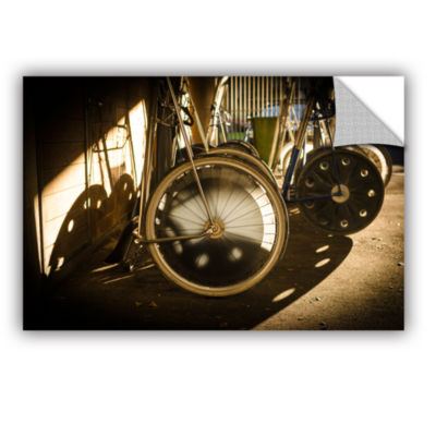 Brushstone Wheels Of Racing Chariots Removable Wall Decal