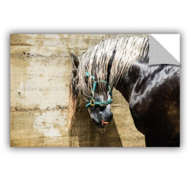 Brushstone Wet Horse Removable Wall Decal