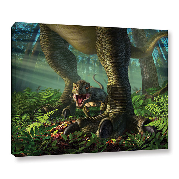 Brushstone Wee Rex Gallery Wrapped Canvas Wall Art