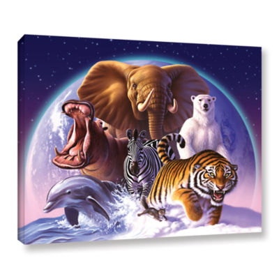 Brushstone Wild World Gallery Wrapped Canvas WallArt
