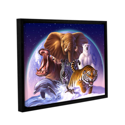 Brushstone Wild World Gallery Wrapped Floater-Framed Canvas Wall Art