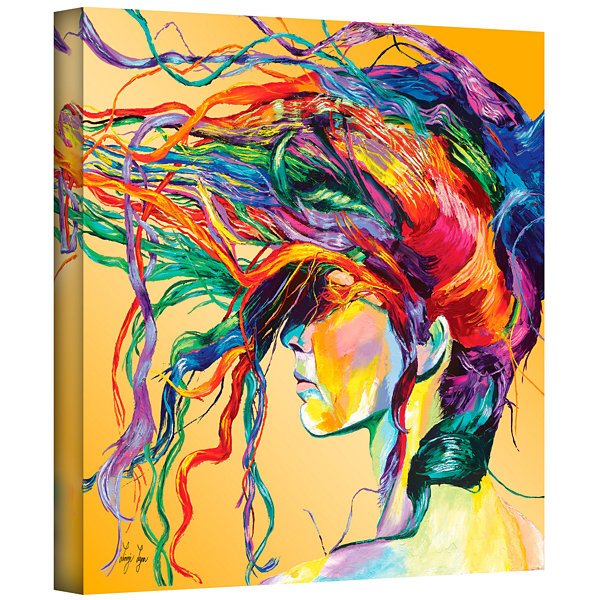 Brushstone Windswept Gallery Wrapped Canvas Wall Art