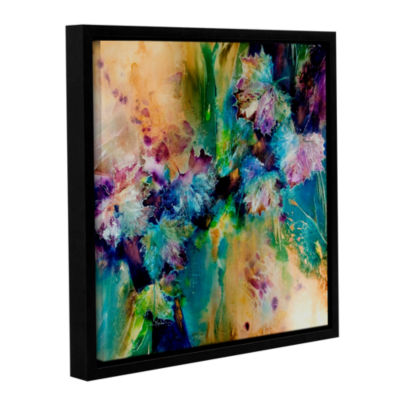 Brushstone Witness Gallery Wrapped Floater-FramedCanvas Wall Art