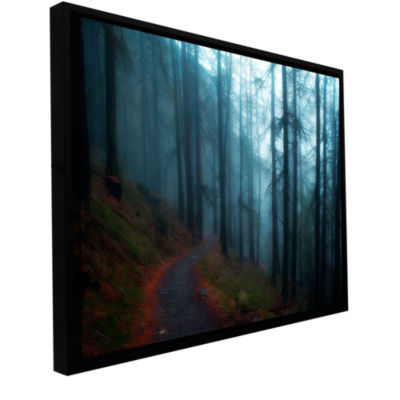 Brushstone Woods Gallery Wrapped Floater-Framed Canvas Wall Art