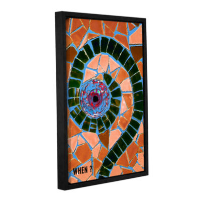 Brushstone When Gallery Wrapped Floater-Framed Canvas Wall Art