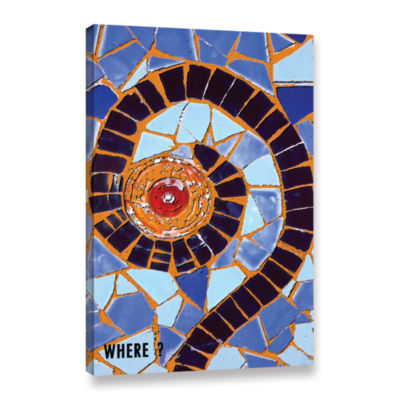 Brushstone Where Gallery Wrapped Canvas Wall Art