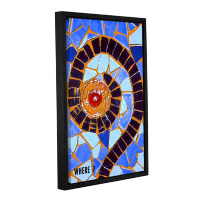 Brushstone Where Gallery Wrapped Floater-Framed Canvas Wall Art