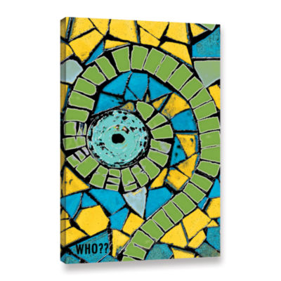 Brushstone Who Gallery Wrapped Canvas Wall Art